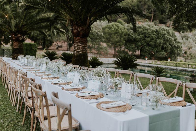 Como colocar los invitados en el banquete de bodas