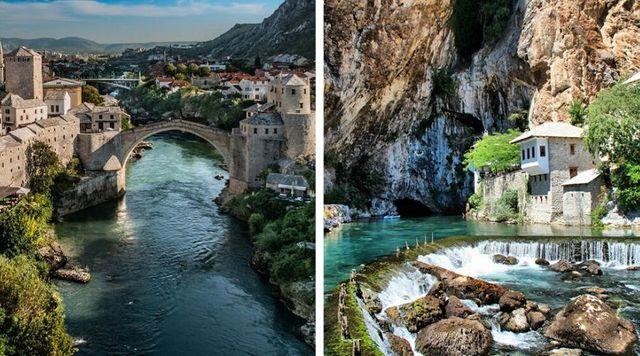 Mostar Bosnia y Herzegovina luna de miel