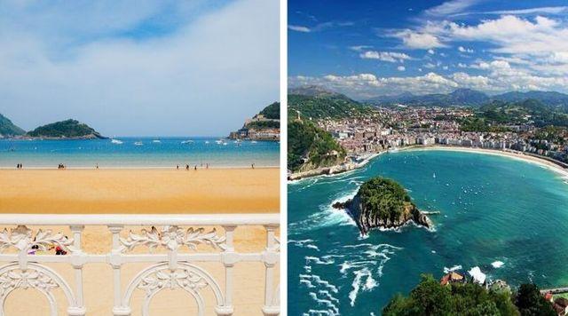 Viaje enamorados San Sebastián España